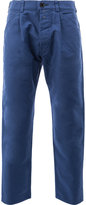 Comme des Garcons tapered cropped trousers - men - Cotton - S