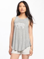 Old Navy High-Neck Swing Tank for Women