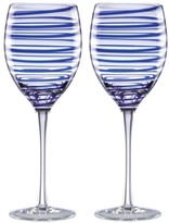 Kate Spade Charlotte Street Collection 2-Pc. Wine Glasses Set