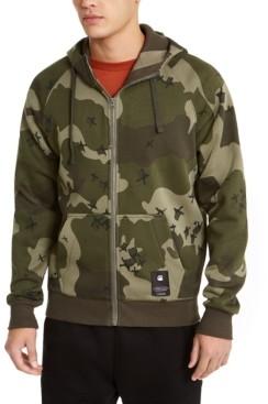 G Star Men's Manes Raglan Hooded Zip Sweater