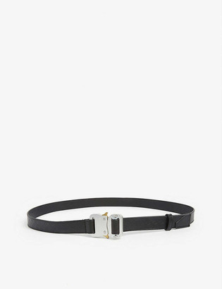 Alyx Leather rollercoaster buckle belt