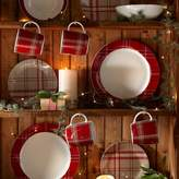Kaleidoscope 32 Piece Highland Tartan Red Dinner Set