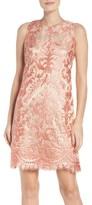 Eliza J Petite Women's Sleeveless Lace Dress