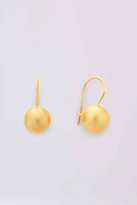 Diane von Furstenberg Gold Ball Small Drop Earring