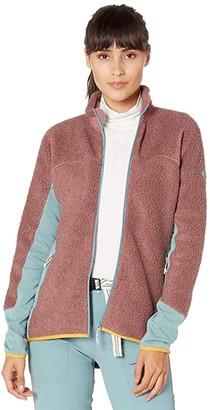Burton Minturn Full Zip Fleece (Rose Brown Heather) Women's Fleece