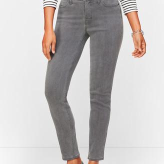 Talbots Slim Ankle Jeans - Curvy Fit - Cadet Grey