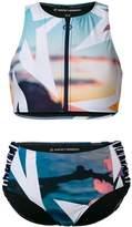 Perfect Moment crew neck bikini set