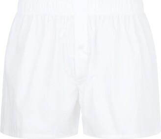 Hanro Woven Plain Boxer Shorts