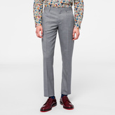 Paul Smith A Suit To Travel In - Light Grey Wool Trousers