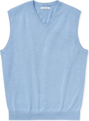 Amazon Essentials Men's Big & Tall V-Neck Sweater Vest