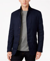 Vince Camuto Men's Check Pattern Quilted Jacket