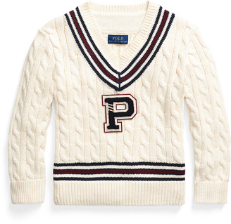 Ralph Lauren Cotton-Blend Cricket Jumper