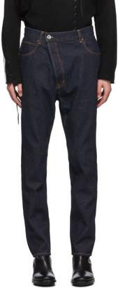 Vivienne Westwood Indigo Asymmetric Jeans
