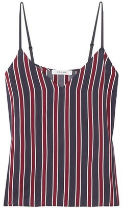 Frame Classic Striped Charmeuse Camisole
