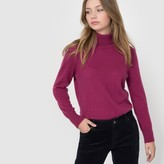 La Redoute Collections Long-Sleeved Roll-Neck Cashmere Wool Jumper