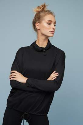 Next Womens Black Cowl Neck Long Sleeve T-Shirt - Black