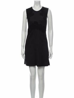 Chloé Virgin Wool Mini Dress w/ Tags Wool