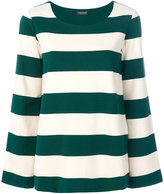 Twin-Set block stripe top