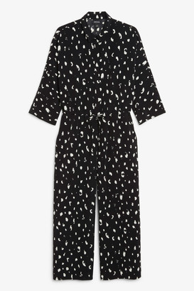 Monki Wide fitting jumpsuit