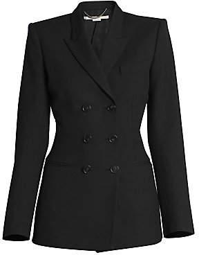 Stella McCartney Women's Double-Breasted Wool Jacket