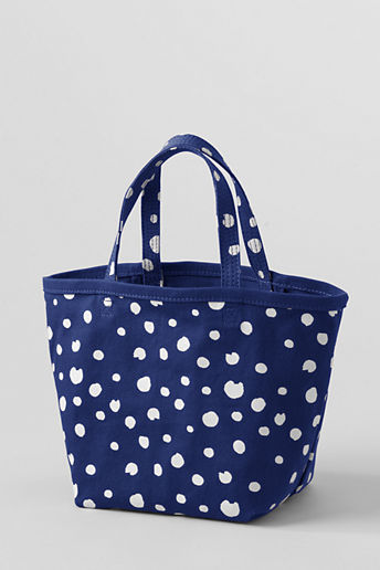 Lands' End Girls' Canvas Tote