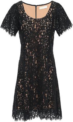MICHAEL Michael Kors Cotton-blend Corded Lace Mini Dress