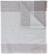 Brunello Cucinelli striped border scarf