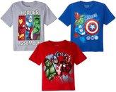 Marvel 3 Pack Avengers Tees (Toddler/Kid) - Assorted - 2T