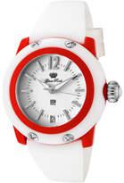 Glam Rock Women's GK4012 - White Silicone/White Wrist Watches
