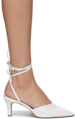 Martiniano White Party Heels