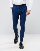 Selected Super Skinny Tuxedo Suit Pants