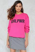 Nasty Gal nastygal Woman's World Sweatshirt