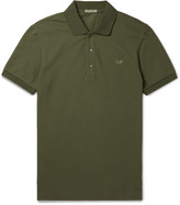 Bottega Veneta - Slim-fit Cotton-piqué Polo Shirt