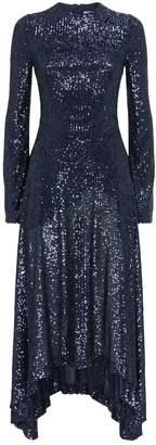 Galvan Asymmetric Modern Love Dress