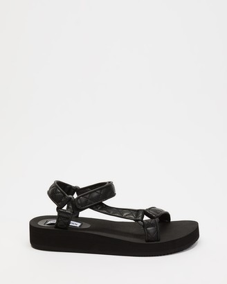 Steve Madden Women's Black Strappy sandals - Henley - Size 7 at The Iconic