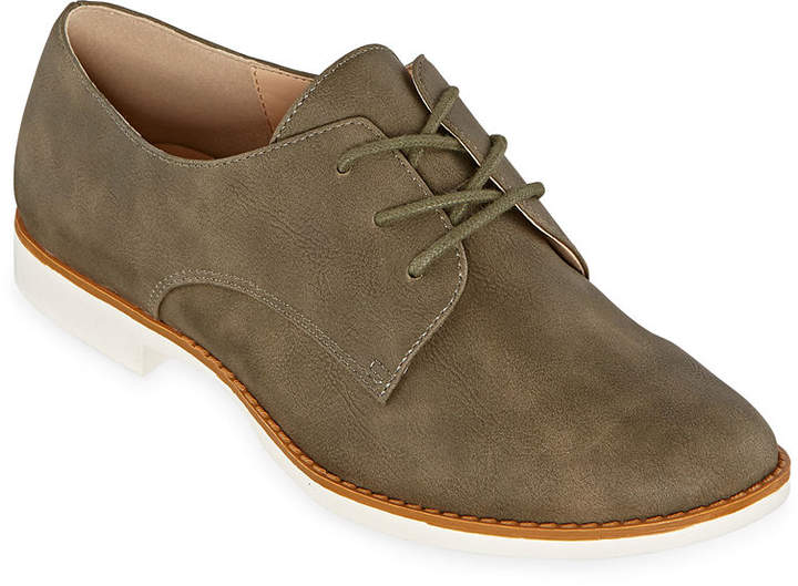 Womens Kalda Lace up Round Toe Oxford Shoes