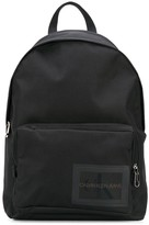 calvin klein jeans patch backpack