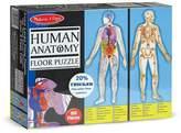 Melissa & Doug ; Human Anatomy 2-Sided Jumbo Jigsaw Floor Puzzle (100 pcs, over 4 feet tall)