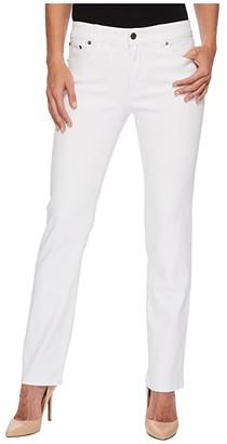 Lauren Ralph Lauren Premier Straight Jeans (Black) Women's Jeans
