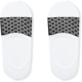 Pantherella Barbados Stretch Egyptian Cotton-Blend No-Show Socks