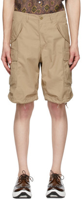 Beams Beige Ripstop 80/3 Shorts