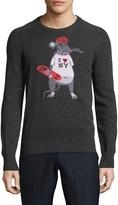 Michael Bastian Men's Gino The Skate Rat Cashmere Sweater