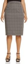 Marina Rinaldi Carotene Geo Print Pencil Skirt