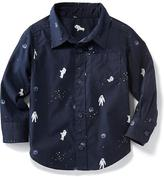 Old Navy Astronaut-Print Shirt for Toddler