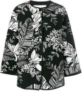 See by Chloe padded jungle-print jacket