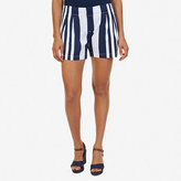 "Nautica Striped Pleated Short (5"")"
