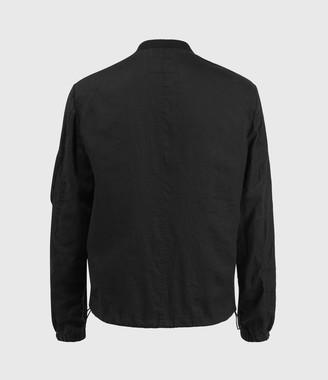 AllSaints Borra Linen Bomber Jacket