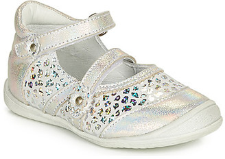 GBB MONA girls's Shoes (Pumps / Ballerinas) in Silver