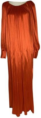 Christian Dior Orange Viscose Dresses