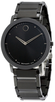 Movado PVD Stainless Steel Watch, 40mm